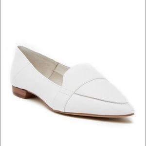 Vince Camuto Maita Flats - White Leather